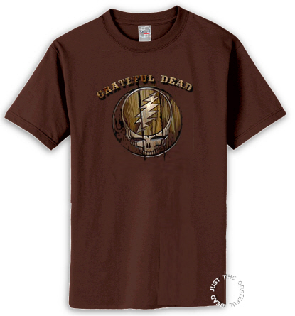 Grateful Dead - Dead Brand Dark Brown T Shirt