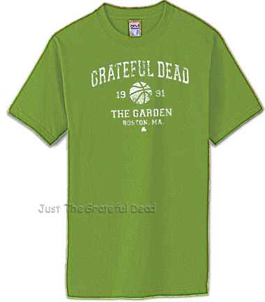 Grateful Dead - Tour Issue Boston Garden '91 T shirt