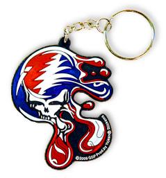 Grateful Dead - Melt Your Face Rubber Keychain