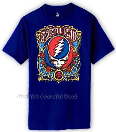 Grateful Dead - Steal Your Roses T Shirt