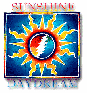 Grateful Dead - Sunshine Daydream Outside Window Sticker