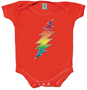 Grateful Dead - Lightning Bolt Infant Romper
