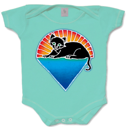 Jerry Garcia - Kitten Under the Stars Infant Romper