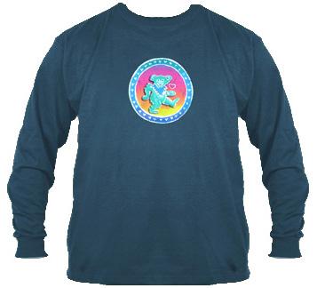 Grateful Dead - Dancing Bear Long Sleeve T-shirt