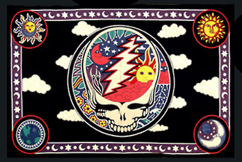 Grateful Dead - Space Your Face Tapestry