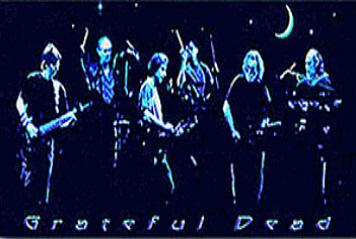 Grateul Dead - Night Like Forever Sticker