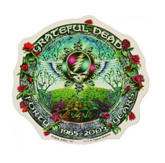 Grateful Dead - 40th Anniversary Round Sticker