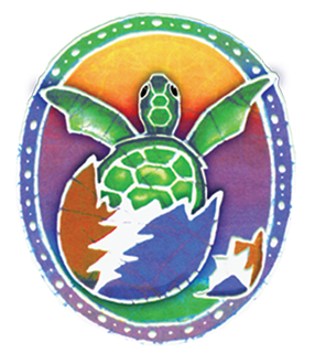 Grateful Dead - Hatching Terrapin Window Sticker