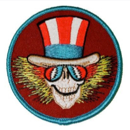 Uncle Sam Embroidered Patch
