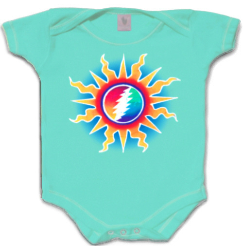 Grateful Dead - Sunshine Lightning Infant Romper