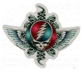 Grateful Dead - Tribal SYF Wing Sticker
