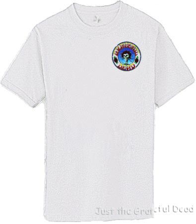 Grateful Dead - Skull and Roses Light Gray T Shirt