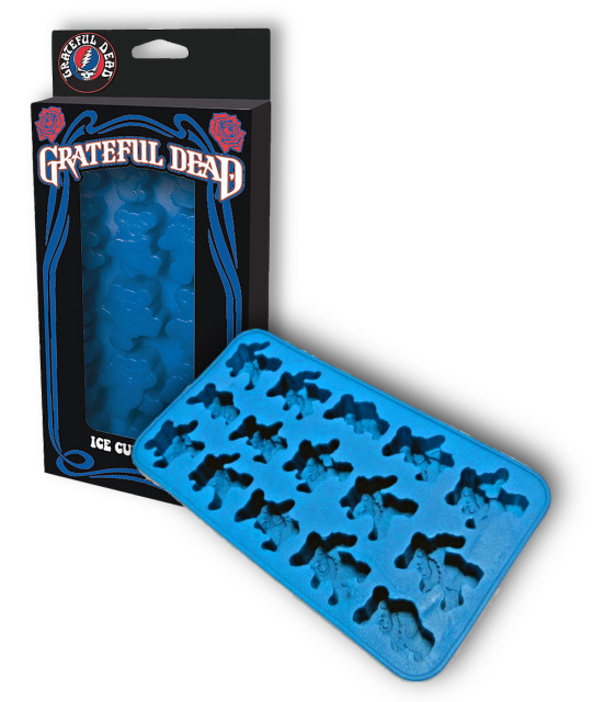 Grateful Dead - Dancing Bear Ice Cube Tray