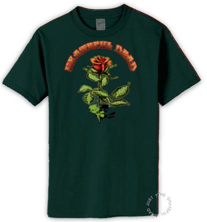 Grateful Dead - Rose T Shirt