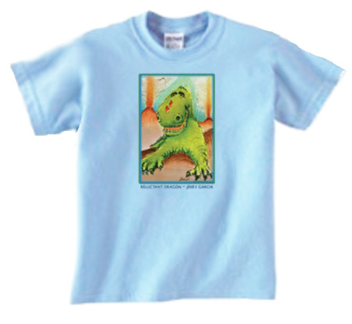 Jerry Garcia - Reluctant Dragon Youth Size T Shirt