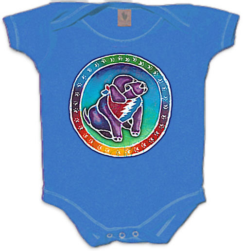 Grateful Dead - Steal Your Face Puppy Romper