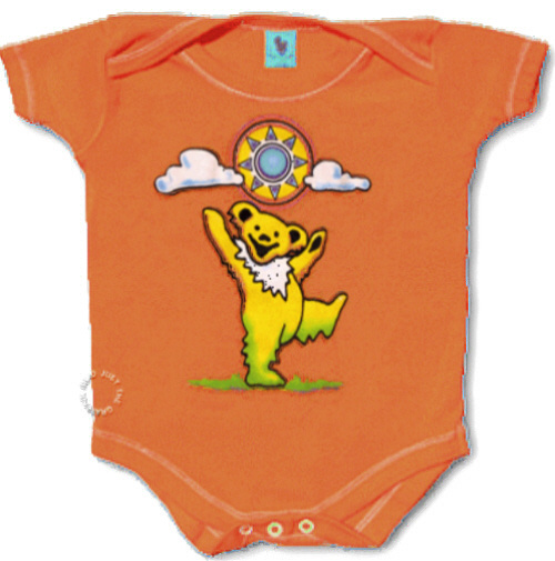 Grateful Dead - Sunny Bear Infant Romper