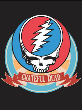 Grateful Dead - Steal Your Face Fleece Blanket