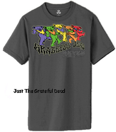 Grateful Dead - Trippy Bears T-Shirt